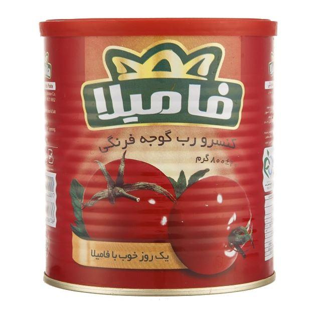 رب گوجه فرنگی فامیلا ۸۰۰ گرمی