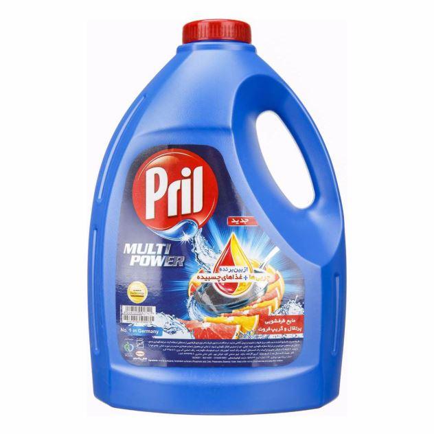 مایع ظرفشویی لیمویی پریل ۳۷۵۰ گرمی