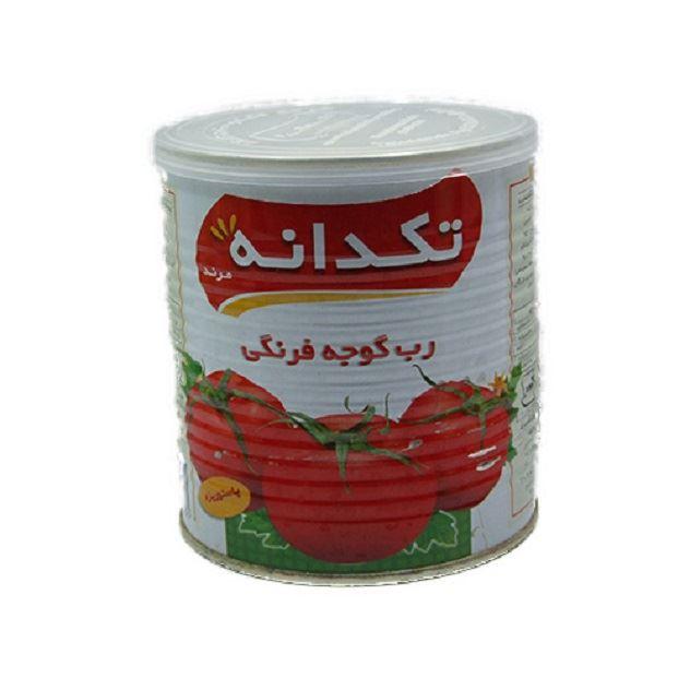 رب گوجه فرنگی تکدانه ۸۰۰ گرمی