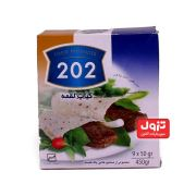 کباب لقمه ۲۰۲ ۷۰% گوشت-۴۵۰گرمی