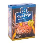 همبرگر  ۲۰۲ ۹۵% گوشت قرمز - استیک برگر- ۵۰۰ گرمی